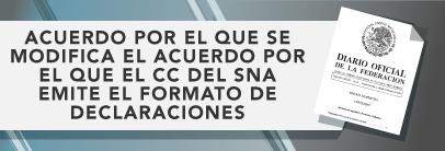 El Comité Coordinador del SNA emite el formato de declaraciones de situación patrimonial y de intereses
